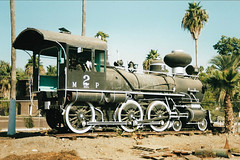 MEX42 MdelP 2 (stevenjeremy25) Tags: mexico train railway railroad pacifico steam mdelp alco sp spdem 1306 460 engine loco