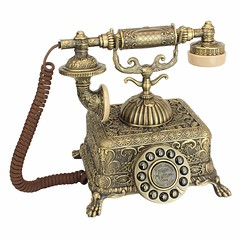Antique Rotary Corded Retro Telephone (mywowstuff) Tags: gifts gadgets cool family friends funny shopping men women kids home
