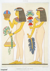 Offering of flowers & fruits from Histoire de l'art égyptien (1878) by Émile Prisse d'Avennes (1807-1879). Digitally enhanced by rawpixel. (Free Public Domain Illustrations by rawpixel) Tags: otherkeywords anillustrationoftheegyptian ancestry ancient ancientegyptian ancientegyptianart anqet antique archaeological archeology art artwork cc0 design designing drawing dynasty egypt egyptian egyptiankingdom egyptology empire flower fruit handdrawn histoiredelartégyptien historical history illustration kingdom mythology offering old oldfashioned outlines outlinesfromtheantique painting pattern psd sepia sketch story traditional vintage émileprissedavennes