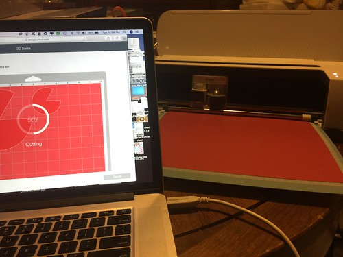cutting cardstock on Cricut