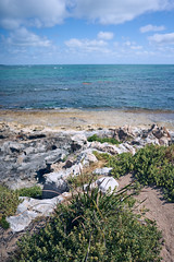 Rocky Shore (Stueyman) Tags: sony alpha a7 a7ii wa westernaustralia capeperon rockingham perth australia au indianocean sea ocean water sky clouds beach batis225 25mm zeiss