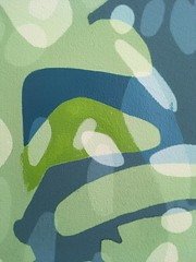2018.12.26 Templeton Commission (2nd Study, detail) (Julia L. Kay) Tags: shadow shadows silhouette juliakay julialkay julia kay artist artista artiste künstler art kunst peinture dessin arte woman female sanfrancisco san francisco daily everyday 365 botanical botany plant foliage splitleaf philodendron splitleafphilodendron sundances templeton templetoncommission acrylic paint painting canvas acrylics acrylicpaint paper panel