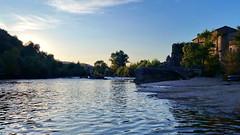 28 - Ardèche - Vogüé sur les bords de l'Ardèche (paspog) Tags: france août august 2018 ardèche vogüé rivière river fluss