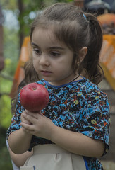 Red Apple (iron_doji) Tags: яблоко apple redapple portrait georgia nikond7100 18135mm nikon beautiful nice amazing baby conceived red little child