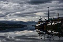 Ullapool Sunrise (Mr_Pudd) Tags: clouds sunrise relection trawler fishingboats scotland ullapool nikond750 nikon