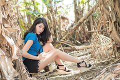DSC_8525 (Robin Huang 35) Tags: 大溪鎮 臺灣省 臺灣 tw 艾森 eisen 落羽松大道 落羽松路 大溪 落羽松 人像 portrait lady girl nikon d850