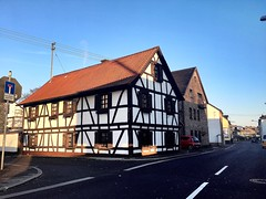 #Fachwerkhaus (RenateEurope) Tags: maisonácolombages 2019 renateeurope iphoneography germany streetphotography history architektur