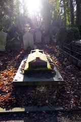 Islington & St. Pancras Cemetery (London Less Travelled) Tags: uk unitedkingdom britain england london city urban finchley eastfinchley cemetery grave tomb light stpancras islington sun