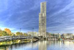 Köln Mediapark (petra.foto busy busy busy) Tags: köln nrw cityscape architektur mediapark kölnturm fotopetra canon 5dmarkiii nordrheinwestfalen