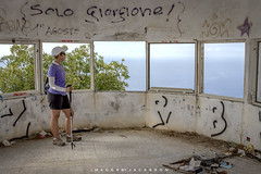 Monterosso Cinque Terre Italy 2018 (John Hoadley) Tags: monterosso cinqueterre italy 2018 september canon 7dmarkii 24105 f63 iso400 puntamesco view lookout wwii cathy