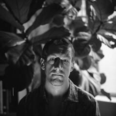 john (kaumpphoto) Tags: rolleiflex bw black white ilford portrait face tlr 120 shadow eyes iris fig