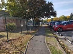 Exemple de butées de parking