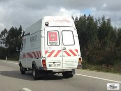 Renacentro Renault Messenger B120 - Portugal (Freggs) Tags: renacentro renault messenger b120 portugal trucks 1997 a1 assistance van assistência rear