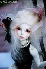 Leviathan (Shared Loneliness) Tags: bjd hair sia fairyland minifee mermaid beuaty alpaca pastel colors blond doll ball jointed