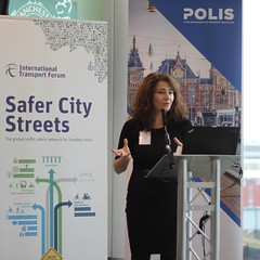 Angeliki STOGIA, Manchester City Council, Councillor for Transport (International Transport Forum) Tags: itf safercitystreets4thmeeting oecd roadsafety cycling 2018 polis