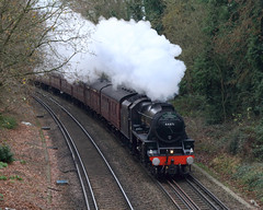 Cathedrals Express (Treflyn) Tags: stanier black5 460 44871 steam reading mays lane earley london victoria worcester cathedralsexpress tour rail railtour loco locomotive lms