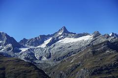 D20083.  From the Gornergratbahn. (Ron Fisher) Tags: schweiz suisse svizzera switzerland kantonwallis valais cantonvallese europa europe zermatt mountain snow glacier gletcher diealpen thealps swissalps alpessuisses schweizeralpen alpisvizzere sony sonyrx100iii sonyrx100m3 compactcamera