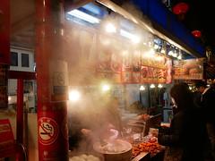 China town in Kobe (yukky89_yamashita) Tags: 神戸 南京町 中華街 kobe hyogo japan chinatown night stroll steam food
