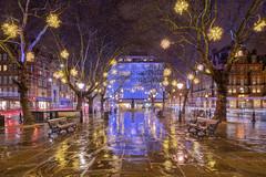 Natale a Chelsea / Christmas in Chelsea (Sloane Square, London, United Kingdom)(Buon Natale!!!/Merry Christamas!!!) (AndreaPucci) Tags: london uk andreapucci christmas night sloanesquare chelsea