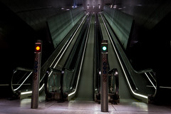 Subway/metro Noordzuidlijn Amsterdam (tijsdingerdis) Tags: sonya6000 sonyalpha gvb gvbamsterdam amsterdam metro subway station noordzuidlijn amsterdamcentraal vijzelgracht noorderpark noord underground