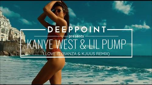 Kanye West Lil Pump fan photo
