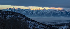 11/365 Stormy Sunrise (KeriFlur) Tags: wasatchmountains hebervalley wasatchback hebercity midway utah valley mountains rockymountains sunrise bluehour clouds cloudy snow winter aspens fog firstlight outdoors outside wilderness naturalworld naturallight nature pines 365the2019edition 3652019 day11365 11jan19 365 2019 2019yip canon canoneosm5 canonef50mmf14usm mirrorless