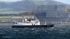 Hebridean Princess passing Hunterston from Great Cumbrae (Eddie the Eagle-eye) Tags: ships boats marine vessel cruise ship sea clyde coast