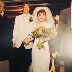 Check out this beautiful bride and groom from 2000. 😍 We have just seen these wonderful pictures. The bride had exquisite taste and this bouquet is still on trend today. . . #parsleyandsageflorist #stokeontrentflorist #throwback #throwbackweddi (parsleyandsage11) Tags: throwbackwedding bride bridalbouquet brideinspo weddingbells throwback weddingstyle wedding2000 weddingdesign weddinginspiration weddingidea parsleyandsageflorist weddinginspo stokeontrentflorist