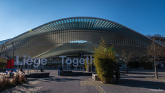 Luik, Station Liège-Guillemins. (What's Around) Tags: stationliègeguillemins luik trainstation station 1750mm