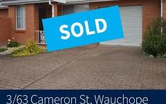 3/63 Cameron Street, Wauchope NSW