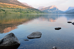 Green River Lakes (NaturalLight) Tags: alpine lake sunset windriverrange wyoming greenriverlakes bridgerteton nationalforest