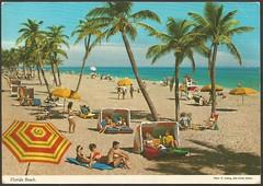 Florida Beach (tico_manudo) Tags: miami florida usavintagepostcard beaches eludwigjohnhindestudios