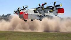 LTV XC-142 STOL (henrik.soeby) Tags: lego ltv xc142 tiltwing ling temco vought xplane aircraft cargo stol vtol