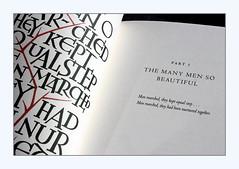 November 11 (overthemoon) Tags: book livre inparenthesis wwi davidjones calligraphy foliosociety ewanclayton