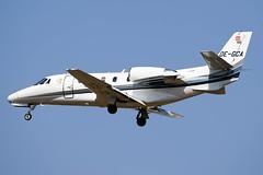 OE-GCA Cessna 560XL Goldeck Flug (LXKARL) Tags: 560xlcitationexcel cn560515 cessna toulouseblagnac oegca tls goldeckflug