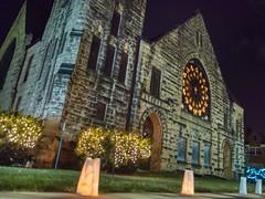 Magical Night Methodist Church (Rh+) Tags: iowa mountvernon magicl celebtation nightphotography handheld nikon evening festival