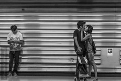 Love at the metro. January, 2017. Santiago, Santiago, Chile 🆑. (mauropedro1969) Tags: blackandwhite streetleaks streetphotography aspfeatures bcncollective bnwcaptures bnwdrama bnwsociety bnwphoto bw capturestreets chiletravel cities couple instabw kiss lensculture metro monochrome ourstreets santiagophotography spicollective street streetscenesmag subway urban zonestreet santiago chile🆑 unpicphotography py1ulcwis2m6bq9g