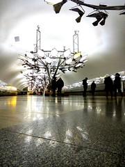 "Moscow. Metro station ""Troparyovo"" (msergeevna) Tags: metro moscow russia prestigio underground метро освещение свет фонарь лучшийгородземли"
