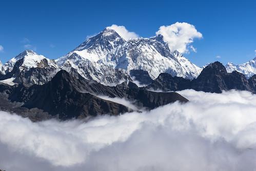 Renjo Pass view (5340m) - Népal