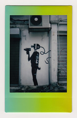 (Hem.Odd) Tags: instaxmini90 instant fujifilm rainbow graffiti malaysia kualalumpur silhouette