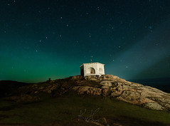 A touch of Aurora (kenthelleland) Tags: lightbeam lighthouse lindesnes norway south southernnorway canon irix canon6d night light aurora nightglow sky stars starry nightsky nightshot nightimage astrophotography bigdipper constellation darkness norge vestagder nordlys