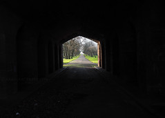 Anfield Cemetery (.annajane) Tags: liverpool merseyside anfield cemetery tunnel arch graveyard liverpoolcemetery uk england archway entrance path