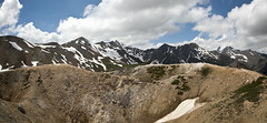 Looking North from Col du Galibier - panor (nicoangleys) Tags: lautaret coldugalibier france2018
