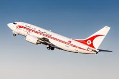 TS-IOP Tunisair Boeing 737-6H3 (buchroeder.paul) Tags: dus eddl dusseldorf international airport germany europe tsiop tunisair boeing 7376h3 departure