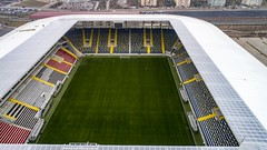 ERYAMAN STADYUMU (Blackwhite1903) Tags: ankara eryaman türkiye stadyum ankaragücü gençlerbirliği sport football venue stadium project construction engineering field soccer aerial airview city drone dji phantom turkey building başkent