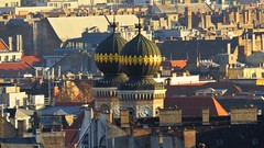 The Great Synagogue seen from Cupola of St. Stephen's Basilica (Normann) Tags: hungary budapest basilica synagogue