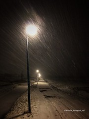 (iPhone Fotograaf) Tags: landscape evening winter photographer iphone8plus groningen dutch snow