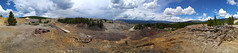 Mining Ruins along Route of the Silver Kings, Leadville, CO 2 (18) (chfstew) Tags: chfstew colorado colakecounty ruins panorama