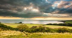 Langton Hive (Chrissphotos) Tags: landscape photography land sea sky leefilters sunset light swans coast langtonherring dorset