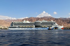 Jordan Aqaba (rolfij) Tags: jordan aqaba ship aida cruises redsea